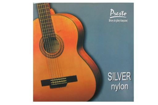 PRESTO SILVER Polskie struny do gitary klasycznej