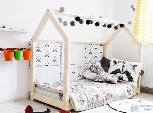 łóżko Drewniane Dla Dzieci Domek Meble Dziecięce