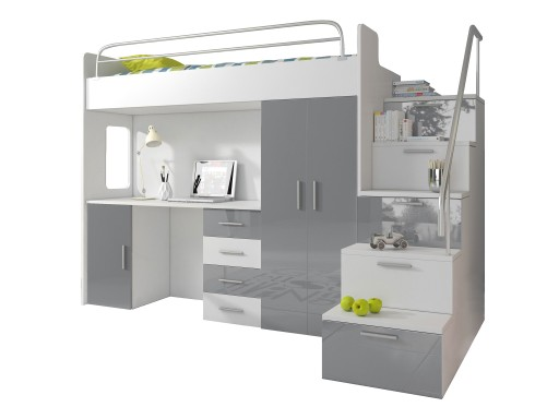 łóżko Piętrowe Raj 4s Kompletne Z Materacem 6652629019 Allegropl