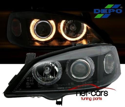 Lampy Reflektory Opel Astra G Angel Eyes Xenon B Wroclaw Allegro Pl
