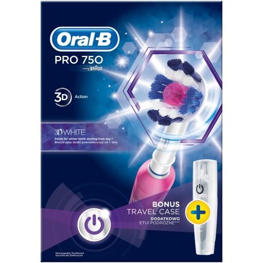 Elektryczna szczoteczka do zębów Oral-B Pro 750