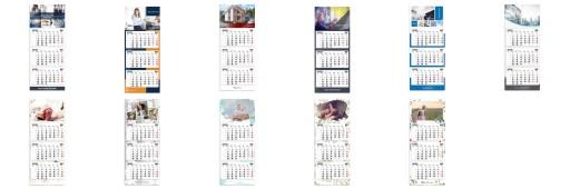 Fotokalendarz trójdzielny с фотографией Бумага ФОТО