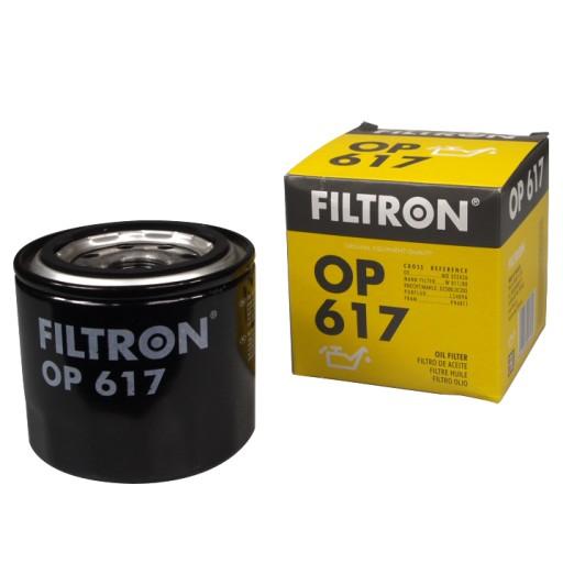 FILTR OLEJU FILTRON OP617 MAZDA 6 323 F 5 LEGACY