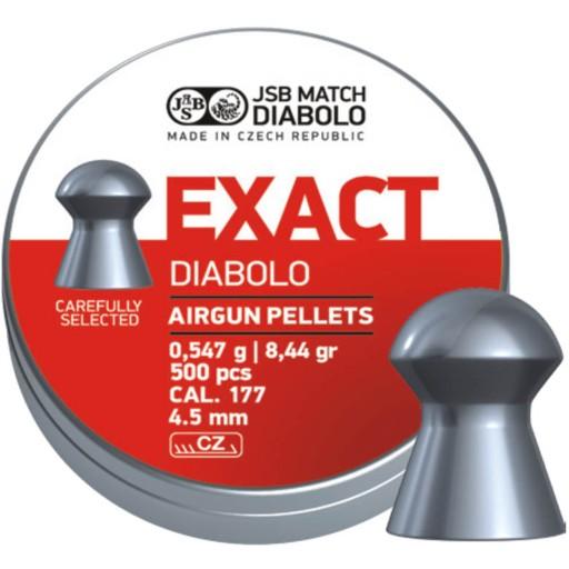 ŚRUT DIABOLO JSB EXACT 4,5mm 4,51 precyzyjny celny