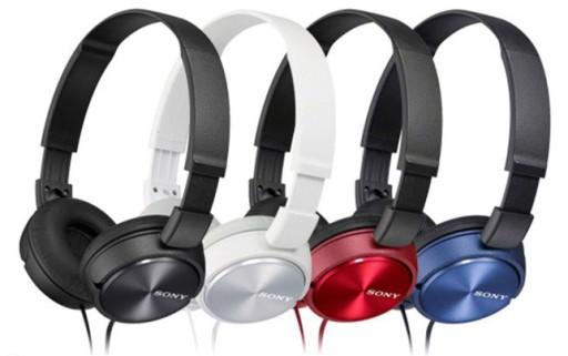 Słuchawki z mikrofonem Sony MDR-ZX310AP Kolory