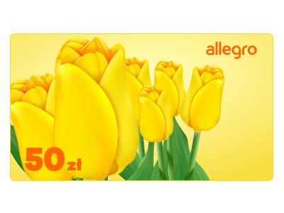 Karta Podarunkowa Kwiaty - 50 zł