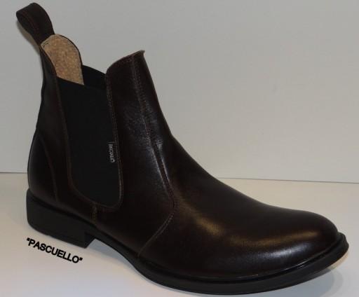 Sztyblety czarne, brązowe Pascuello Skóra39-45