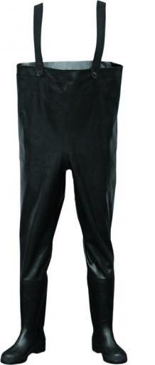 Spodniobuty Wodery Gumowe Fagum Stomil Czarne Guma 6333302533 Allegro Pl