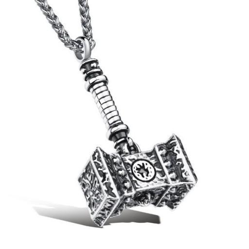 Zawieszka Młot Thora biżuteria inspirowana superbohaterami