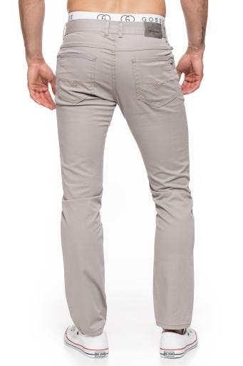 SPODNIE MĘSKIE LETNIE STANLEY - 400/155 - 92cm/L32 10539975082 Odzież Męska Spodnie YR KWZDYR-4