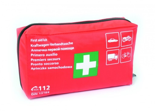 FIRST AID KIT FIRST HELP TEXTILE DIN