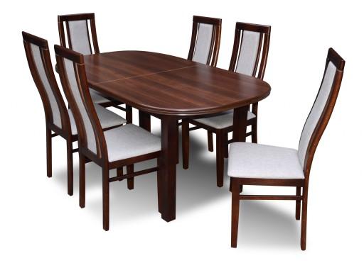 Stół 6 Krzeseł Krzesła Stoły Solidnie Jakość 7430455183 Allegropl