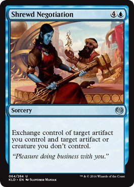 MTG 2x Shrewd Negotiation (Uncommon)