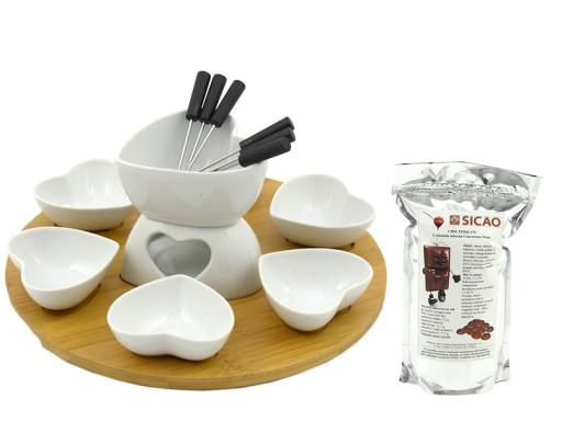 6 Osob Ceramiczny Zestaw Do Fondue 28224 Gratisy 5632458957 Allegro Pl