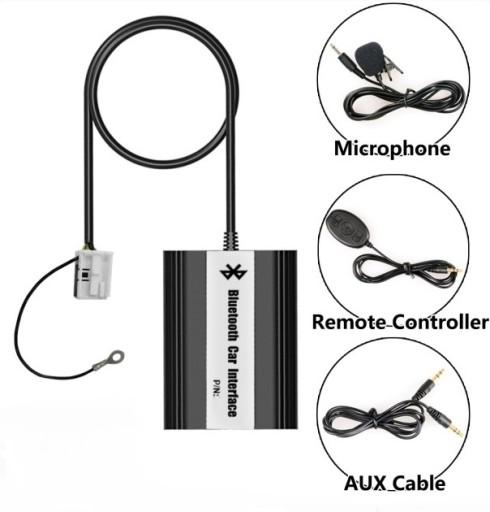ZMIENIARKA MP3 Z.GŁ BLUETOOTH USB/AUX TOYOTA/LEXUS