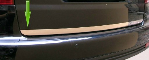 BMW-SERIE 3 (E46) NAUJAS MOLDINGAS CHROMAS BAGAZINES DANGTIS BAGAZINES