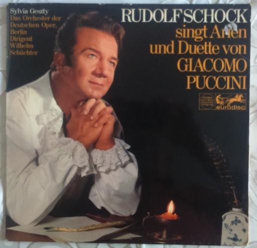 RUDOLF SCHOCK SING ARIEN UND DUETTE VON G. PUCCINI