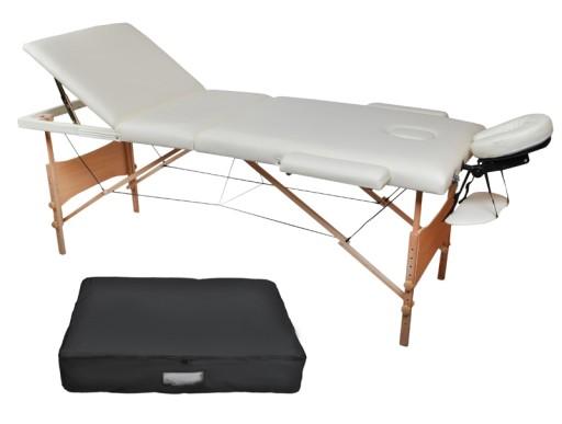 Inteligentny MOBILNA Leżanka kosmetyczna, Fotel ŁÓŻKO do masażu 6896487727 AR93
