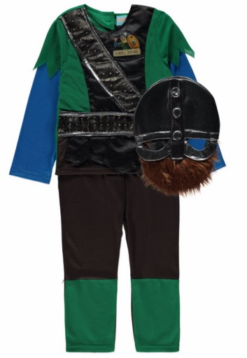 Wiking strój karnawałowy kostium 5-6 lat