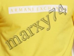 Armani Exchange Logo Crew - Bright Yellow- L 6692308706 Odzież Męska T-shirty AY FDMFAY-1