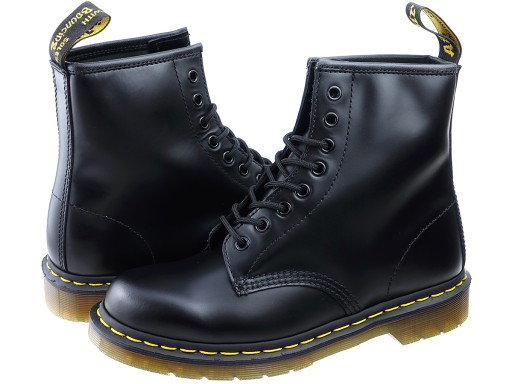 najlepszy design rozmiar 7 popularna marka Dr. Martens 1460 czarne glany Martensy black 40