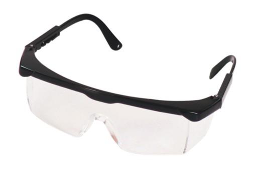 Okulary ochronne regulowane zauszniki C0002 Corona