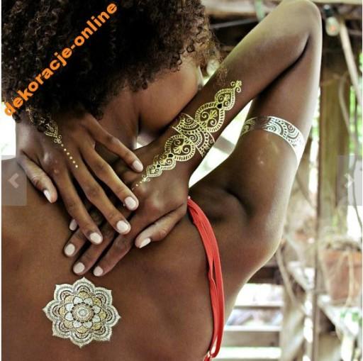 Tatuaże Samoprzylepne Flash Tatoo Zmywalny Tatuaż
