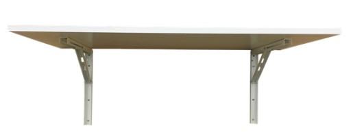 Stół Stolik Składany ścienny 60x50 Rozkładany 8kol