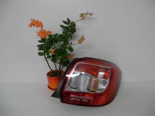 12+ Dacia Sandero II Фонарь держатель сзади правый задний