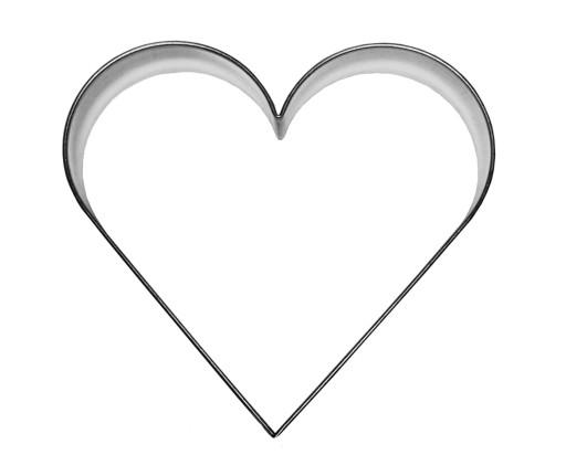 Foremka SERCE 11,8 cm - wykrawacz serca, serduszko 7600583634 - Allegro.pl