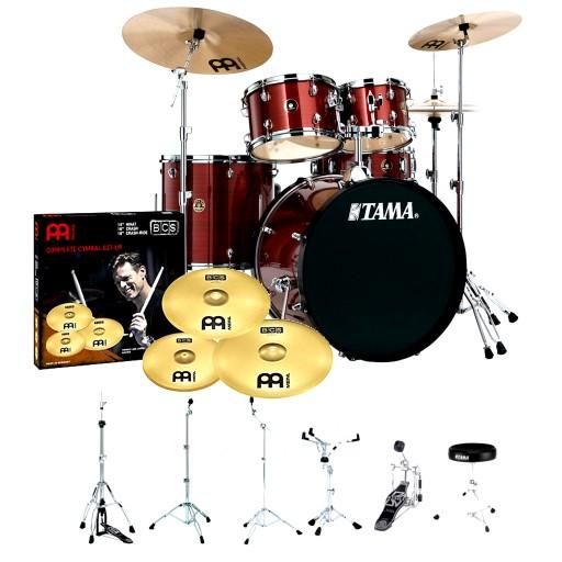 Perkusja Tama Rhythm Mate 22 kompletna Strojenie