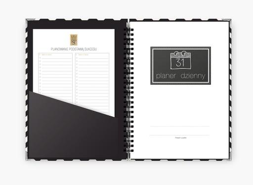 Planer dzienny organizer notes zeszyt kalendarz B5