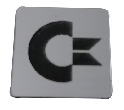 Badge sticker znaczek logo Commodore Amiga 500