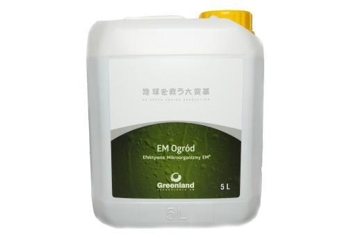 EM Ogród Efektywne Mikroorganizmy 5l