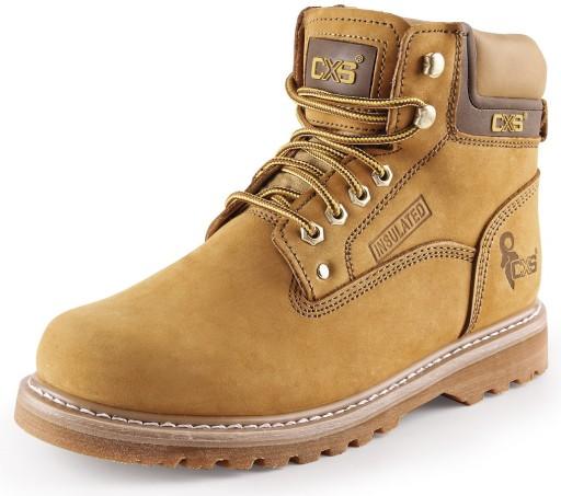 LEKKIE i WYGODNE buty skórzane trekingowe ROAD 45