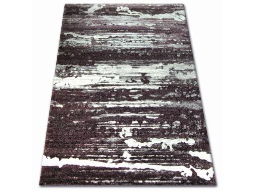 Dywany łuszczów Shadow 60x100 Pasy Fiolet At1107