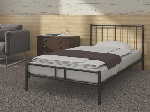Zobacz łóżko Metalowe Do Sypialni 80x200 Wzór 3j