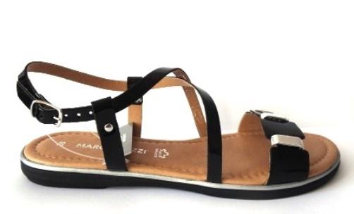0687b2e82ce8f1 Marco Tozzi 2-28141-28 38 czarne sandały WYPRZEDAŻ 7349217083 - Allegro.pl  - Więcej niż aukcje.