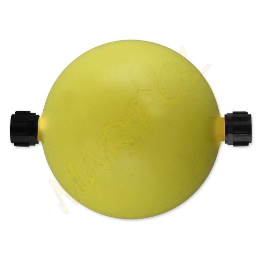 MARPOL KLOSZ KULA DO LAMPIONU LED-12 żółta