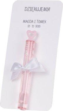 Pomyslowe Podziekowanie Banki Mydlane Pink 6952923256 Allegro Pl