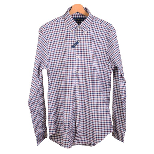 7f1b4adef RALPH LAUREN POLO koszula męska kratka SLIM XXL 7154679664 - Allegro.pl