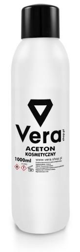 VERA Aceton Kosmetyczny Czysty MEGA 1000ml