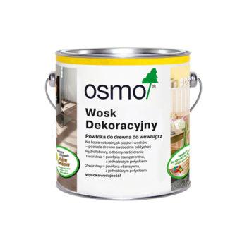 Wosk Dekoracyjny Bezbarwny, Połysk OSMO 0,75L 3101