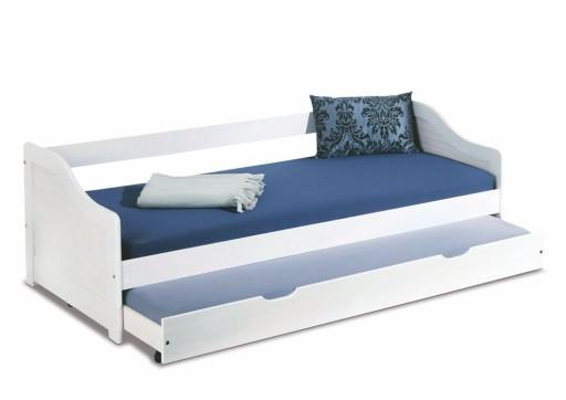 Leonie 2 łóżko Młodzieżowe Dwuosobowe Składane