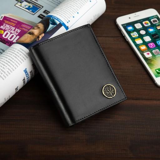 65887b3492351 Skórzany portfel męski BETLEWSKI ochrona RFID duży Waga (z opakowaniem)  0.15 kg