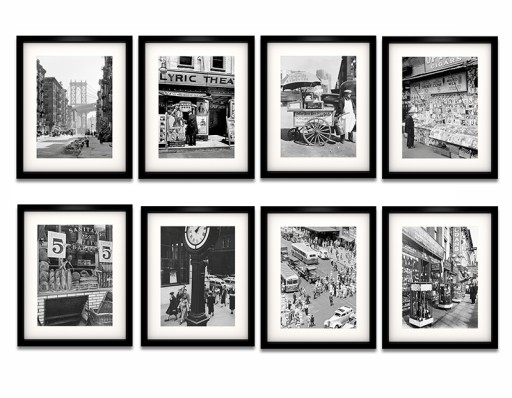 Nowy Jork Lata 50 60 Te Piękne Plakaty W Ramach