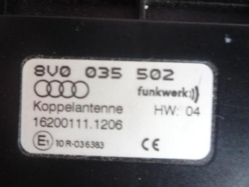 AUDI A3 8V0 WZMACNIACZ ANTENOWY 8V0035502