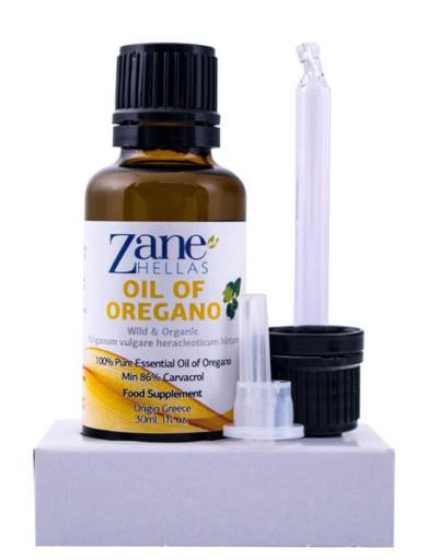 Czysty olejek z dzikiego oregano 100%, Zane Hellas