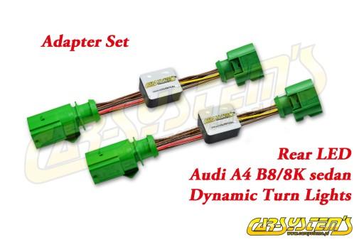 Audi A4 8K SEDAN - Dynamiczne kierunkowskazy pnp