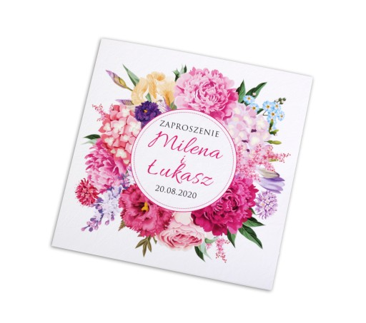 Zaproszenia ślubne Rustykalne Boho Prestige New 7205020602 Allegropl